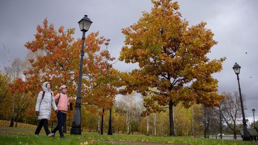 В Москве 24 октября ожидается до +12 °С