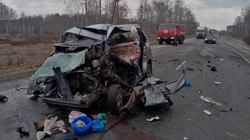 Число погибших в ДТП в Новосибирской области возросло до пяти