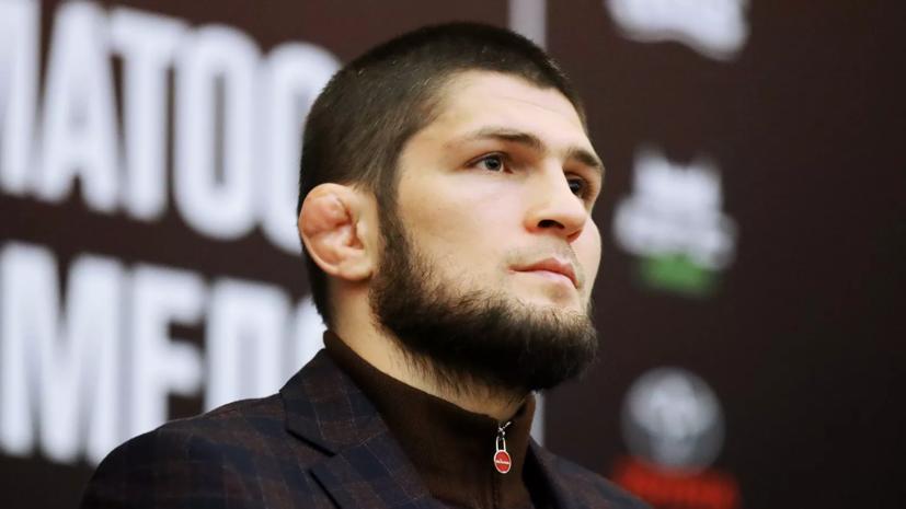 Нурмагомедов прибыл на арену в Абу-Даби перед боем c Гэтжи на UFC 254