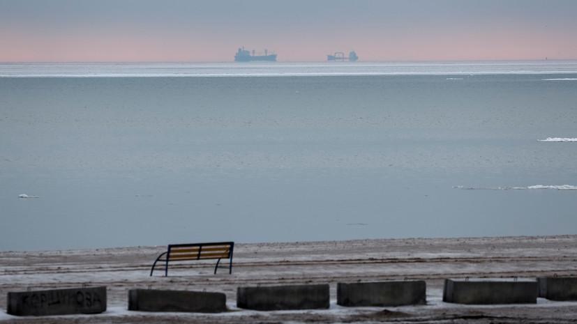 На российском танкере в Азовском море произошёл взрыв