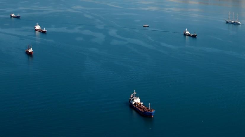 В МЧС оценили состояние повреждённого в Азовском море танкера
