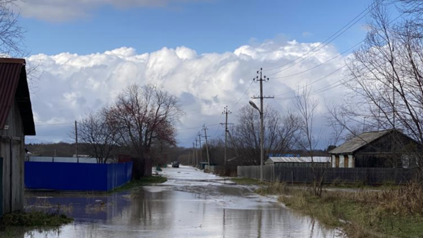 Жильцы затопленных после циклона домов на Сахалине получат компенсации