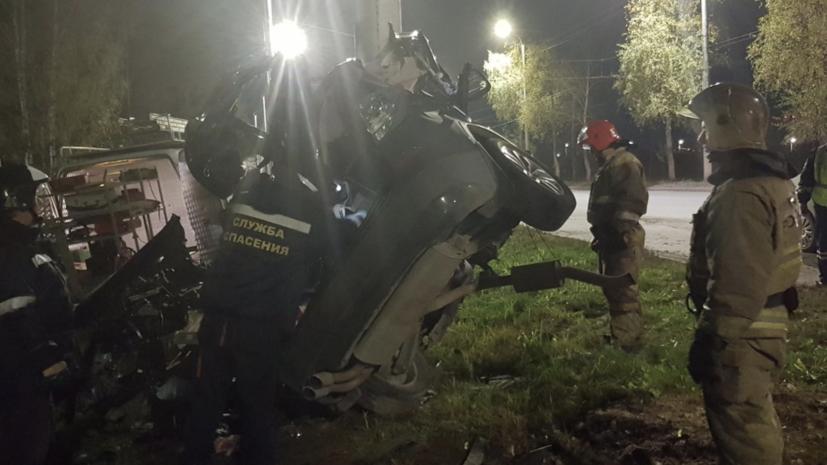 В результате ДТП в Ивановской области погибли четыре человека
