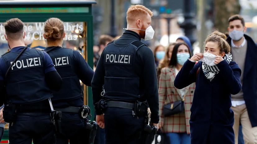 Число случаев коронавируса в Германии превысило 429 тысяч