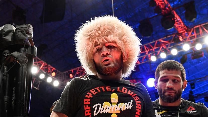 Комментатор UFC Роган назвал Нурмагомедова величайшим на все времена