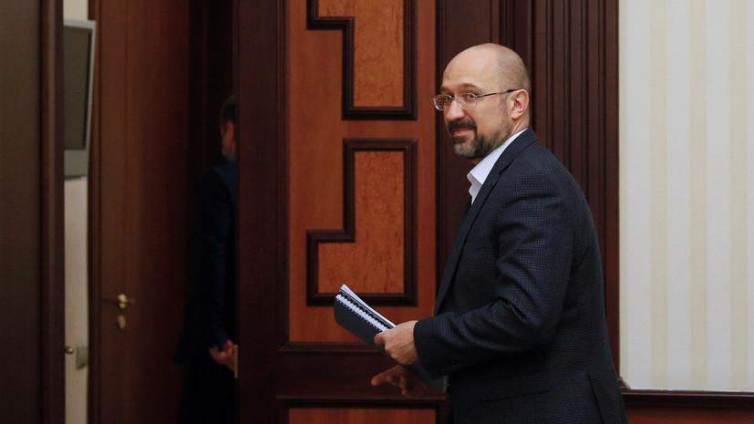 Премьер Украины проголосовал на местных выборах