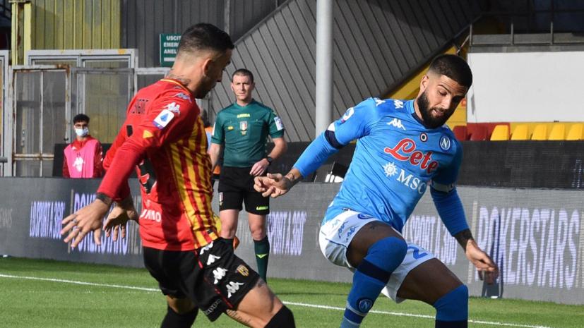 «Наполи» одержал волевую победу над «Беневенто» в Серии А