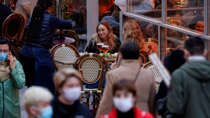 Во Франции за сутки выявлено более 52 тысяч случаев коронавируса