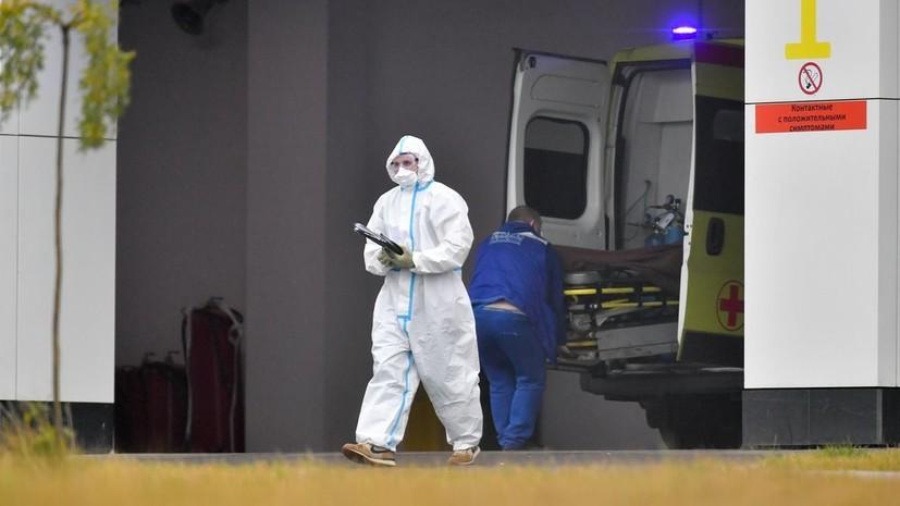 В Москве за сутки умерли 62 человека с коронавирусом