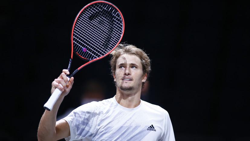 Зверев выиграл второй теннисный турнир в Кёльне за две недели