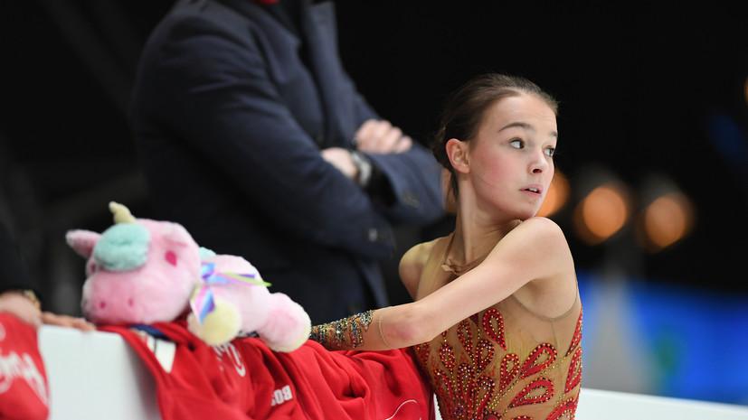 Глейхенгауз заявил, что Щербакова хочет подготовить два-три четверных прыжка к ЧР