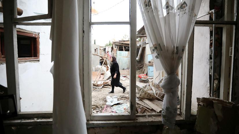 «Никакого урегулирования, кроме мирного, быть не может»: в Кремле оценили ситуацию в Нагорном Карабахе