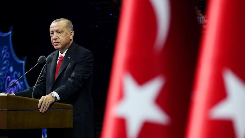 """Эрдоган обвинил Россию в """"нападении"""" на лагерь оппозиции в Идлибе"""
