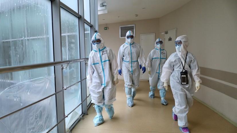 За сутки в России выписаны 12 844 человека после COVID-19