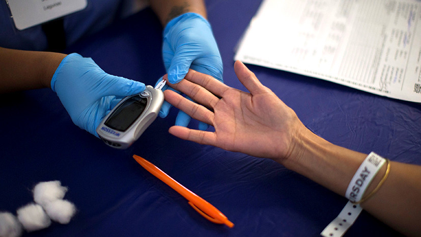В Минздраве прокомментировали ситуацию с диабетом в России
