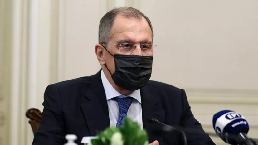 Лавров ушёл на самоизоляцию из-за контакта с больным коронавирусом