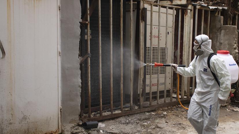 Число случаев заболевания коронавирусом в Ливане достигло 73 995
