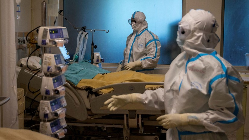 За неделю в мире выявлены рекордные 2,8 млн случаев коронавируса