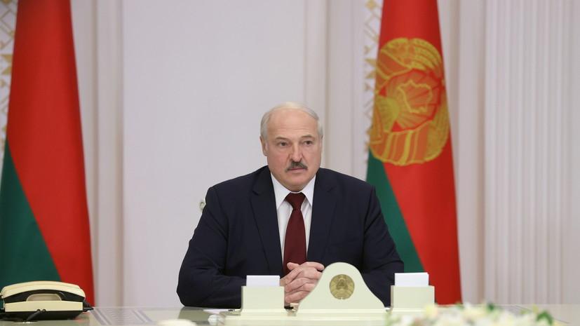 Лукашенко рассказал о «спонсорах» бастующих на заводах в Белоруссии