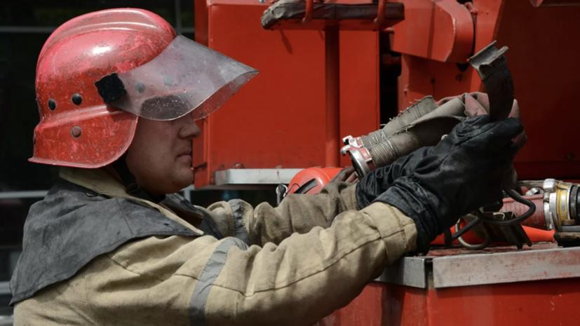 В Ростовской области произошло возгорание в цехе по переработке пера
