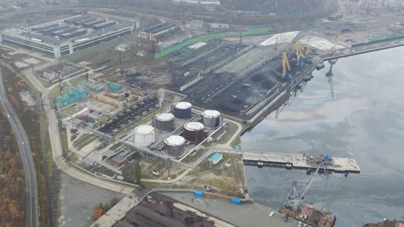 В Находке прокомментировали ситуацию с разливом нефти в заливе