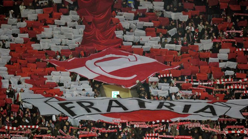 СМИ: Полиция запретила фанатской организации «Фратрия» зажечь файеры у «Открытие Арены»