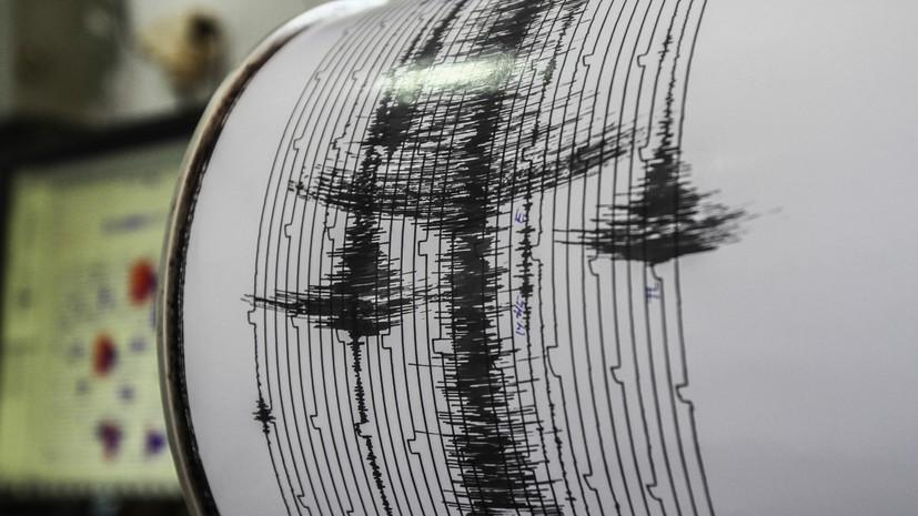 Землетрясение магнитудой 5,8 произошло у берегов Вануату