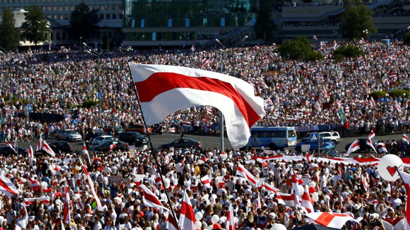 Глава МВД Белоруссии заявил о второй волне протестов в республике
