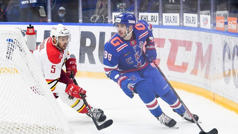 СКА впервые проиграл «Куньлуню» в КХЛ