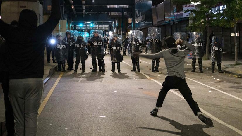 В Филадельфии ввели комендантский час из-за беспорядков