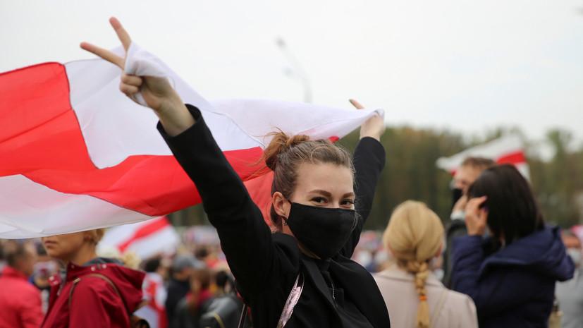 Генпрокурор Белоруссии заявил о «серьёзной радикализации» протестов