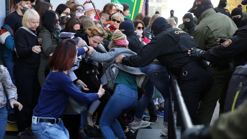 В Белоруссии завели более 650 дел из-за нарушений на протестных акциях