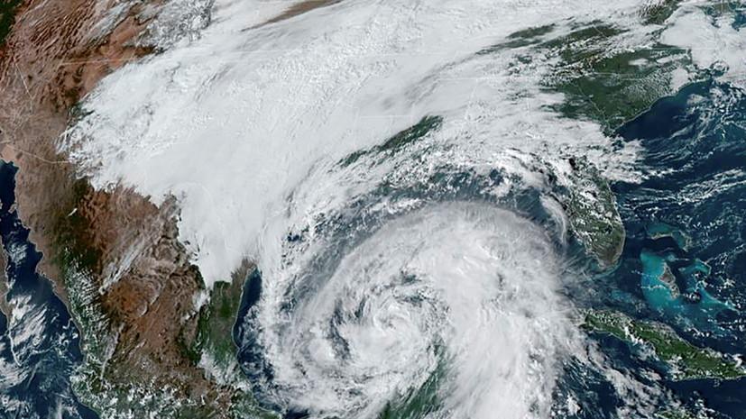 Ураган «Зета» достиг побережья Луизианы