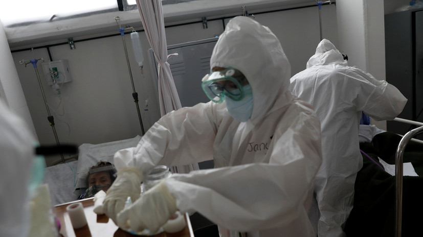 Число случаев коронавируса в Мексике превысило 906 тысяч