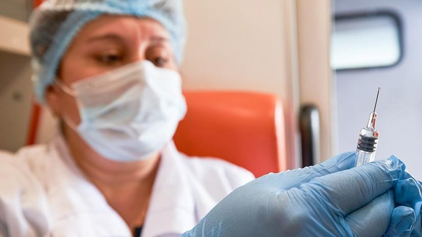 В Москве прокомментировали сроки работы мобильных пунктов вакцинации от гриппа
