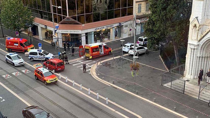 СМИ сообщили о третьем погибшем после нападения в Ницце