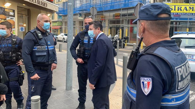 Мэр Ниццы сообщил об обезглавливании одной из жертв нападения с ножом