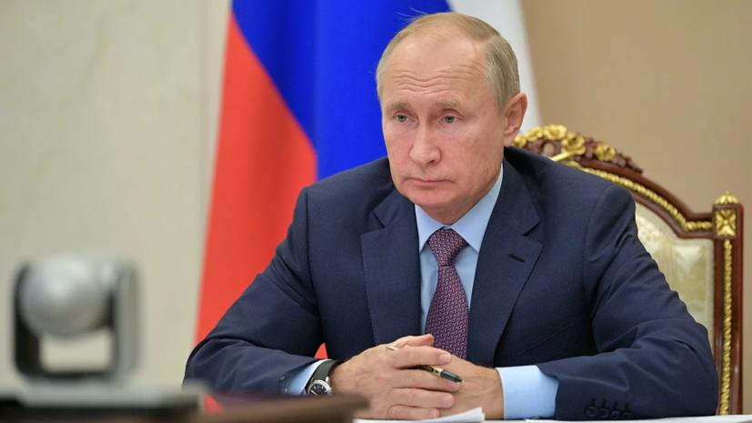 Путин: общенационального локдауна в России вводить не планируется