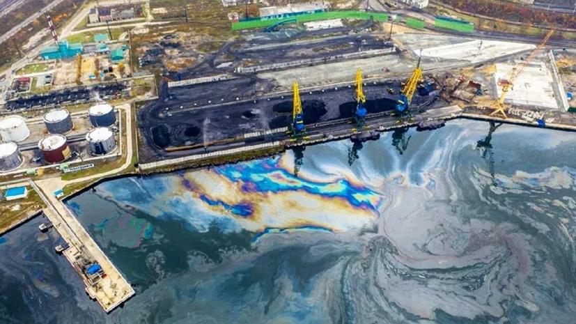Минприроды сообщило о ликвидации нефтяного пятна в бухте Находки