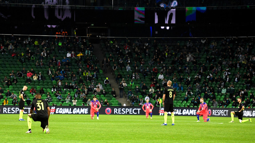 «Не является обязательным»: в УЕФА ответили на обвинения в расизме не преклонивших колено футболистов «Краснодара»