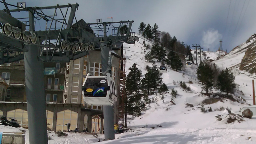 В Кабардино-Балкарии возобновили работу две канатные дороги