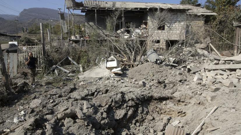 Белый дом призвал внешние силы не вмешиваться в конфликт в Карабахе
