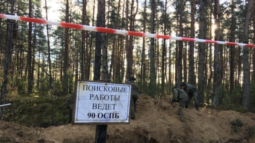 В Псковской области обнаружены останки убитых нацистами 188 человек