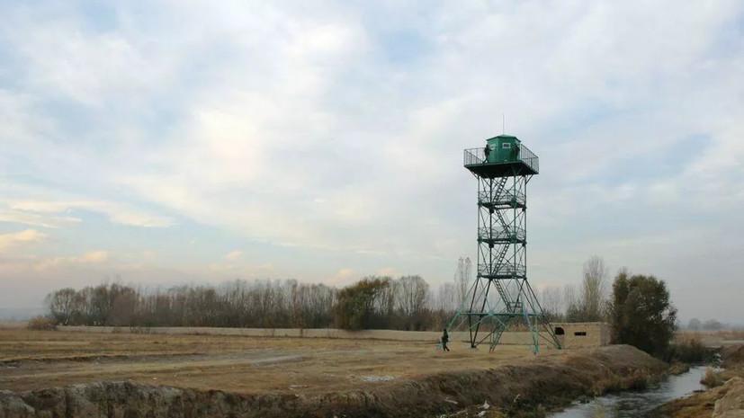 Погранслужба Киргизии переведена на усиленный вариант несения службы