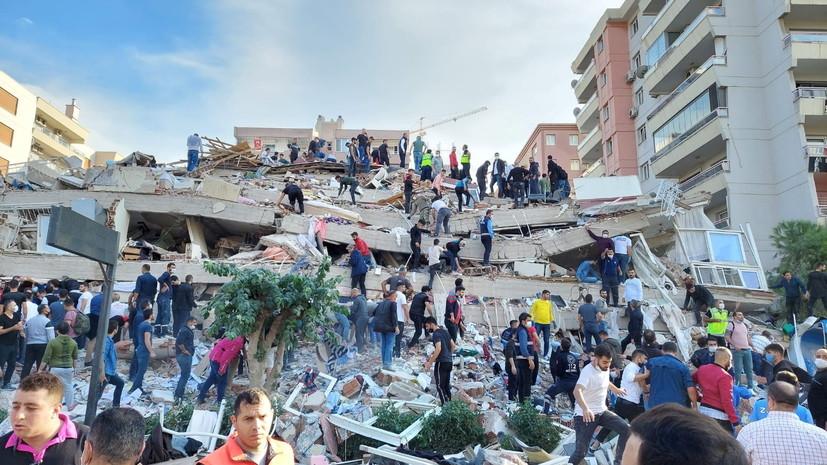 Четыре человека погибли из-за землетрясения в Турции