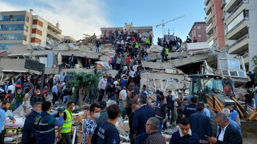 Премьер Греции позвонил президенту Турции из-за землетрясения