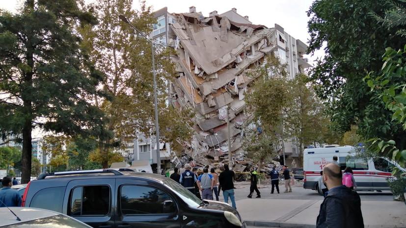 Франция заявила о готовности помочь Греции и Турции после землетрясения