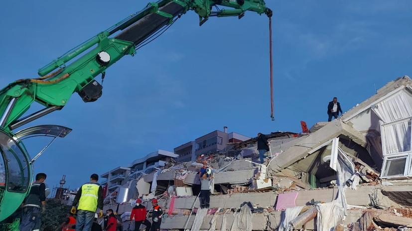 Число пострадавших из-за землетрясения в Турции возросло до 321