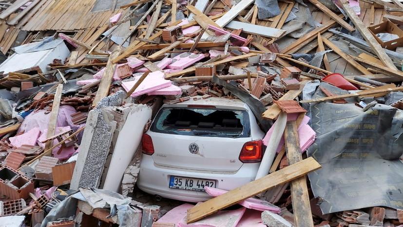 Число пострадавших при землетрясении в Турции превысило 500