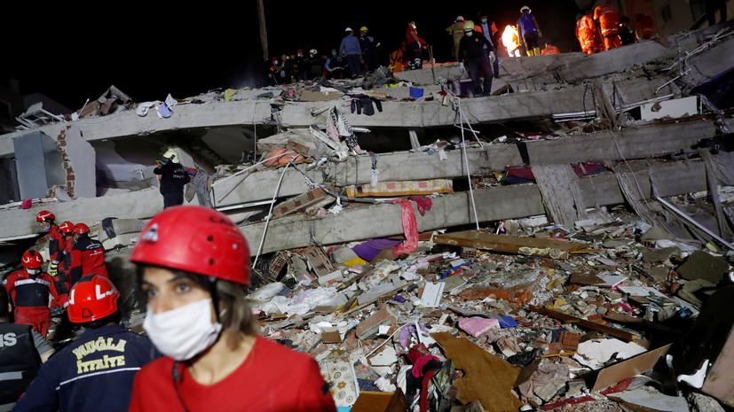 Российская туристка рассказала о землетрясении в Турции